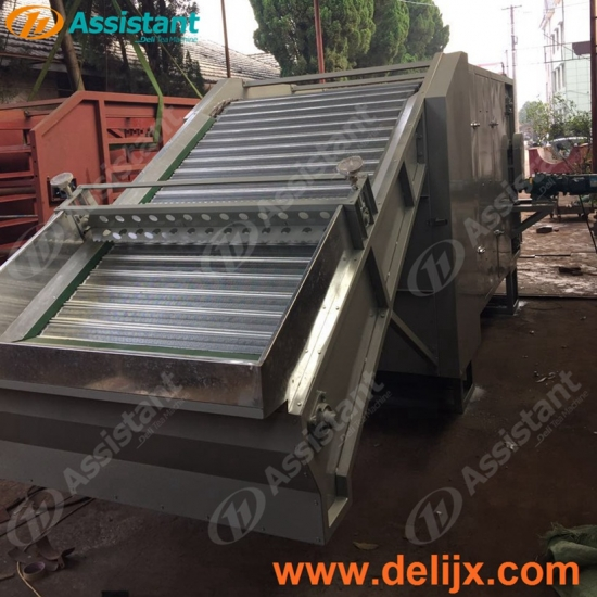 Belt Type Wood And Coal Heating Continuous Tea Leaf Dryer Equipment